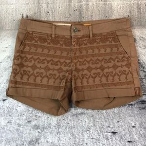 Pilcro and the letterpress hyphen fit shorts